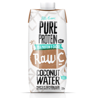 Natural Raw C Coconut Water with Protein