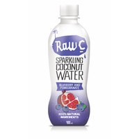 Natural Raw C Sparkling Blueberry Coconut Water