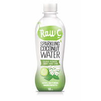 Natural Raw C Sparkling Elderflower Coconut Water