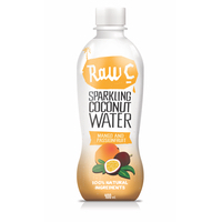 Natural Raw C Sparkling Mango Coconut Water