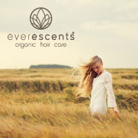 EverEscents Organic Hair Care Travel Size Tubes