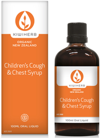 Kiwiherb - Children's Cough & Chest Syrup